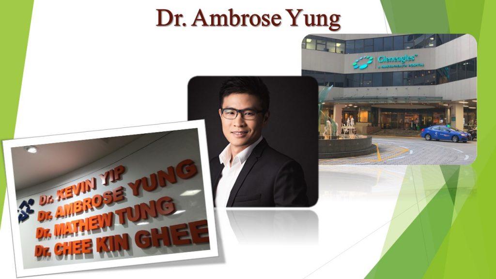 Dr Ambrose Yung Work